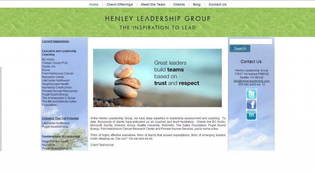 Henley Leadership