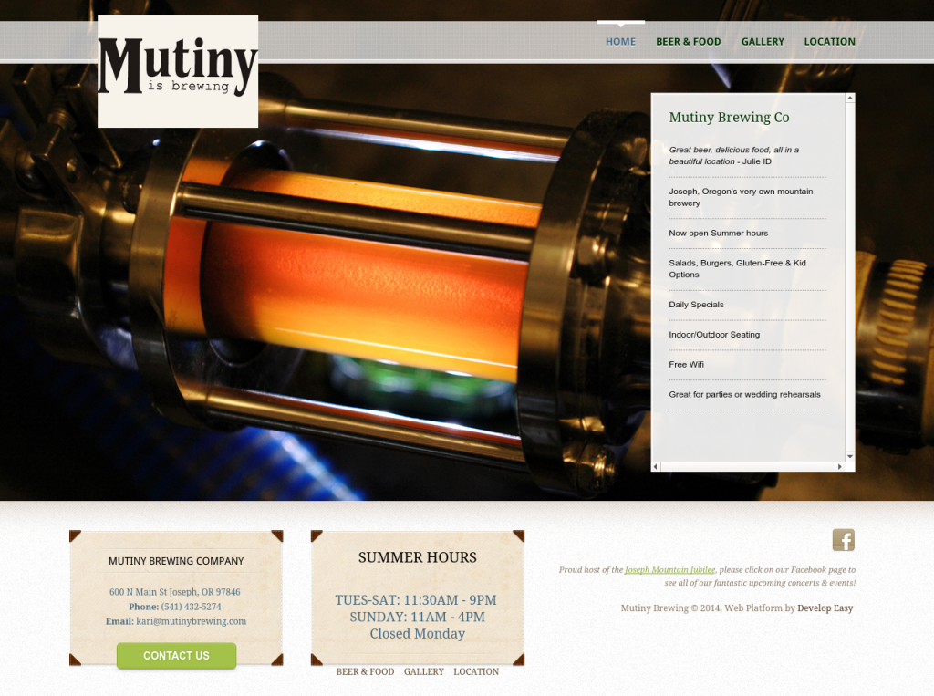 Mutiny Brewing Co.