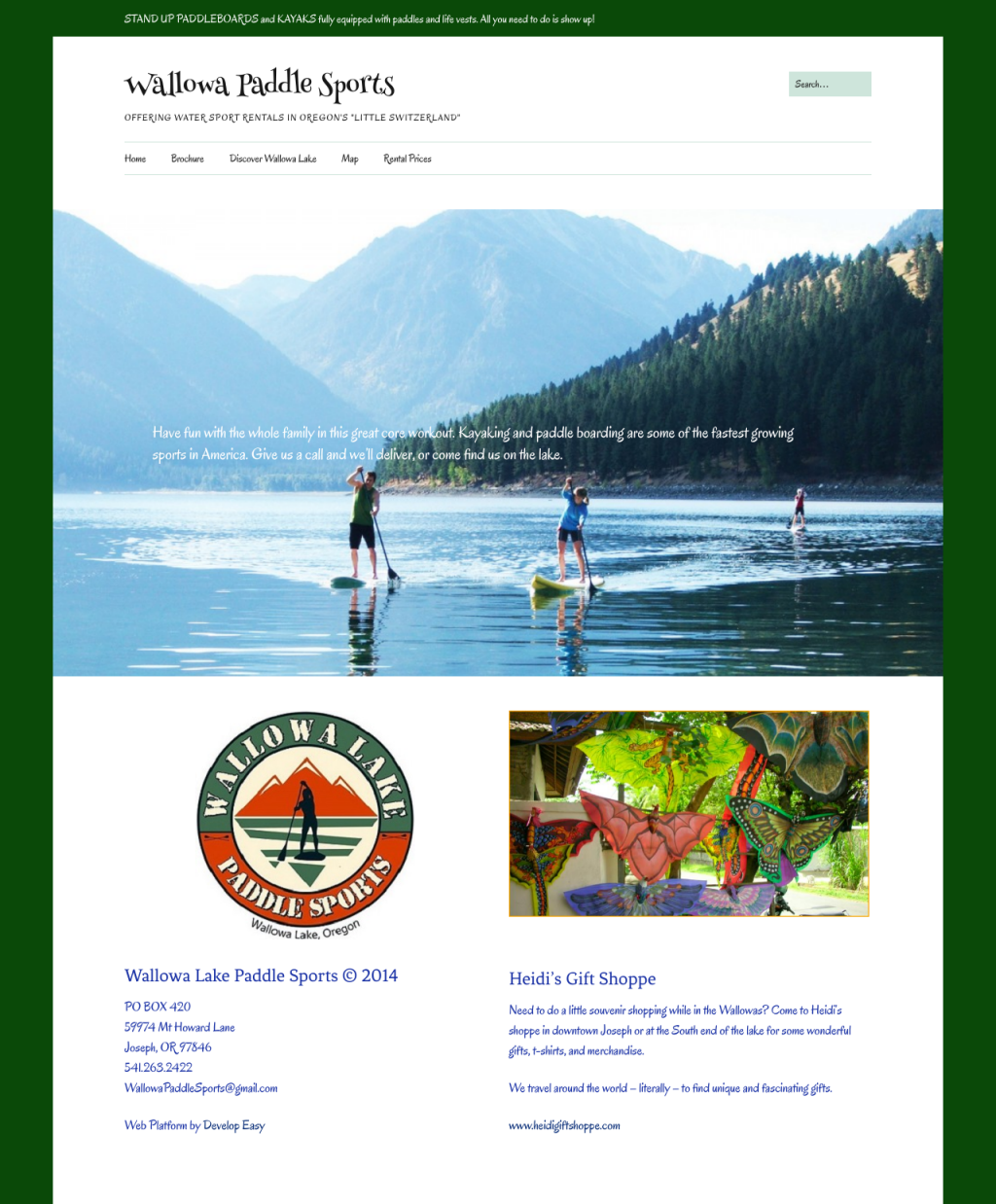 Wallowa Paddle Sports