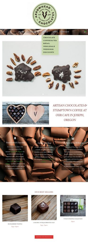 Arrowhead Chocolates