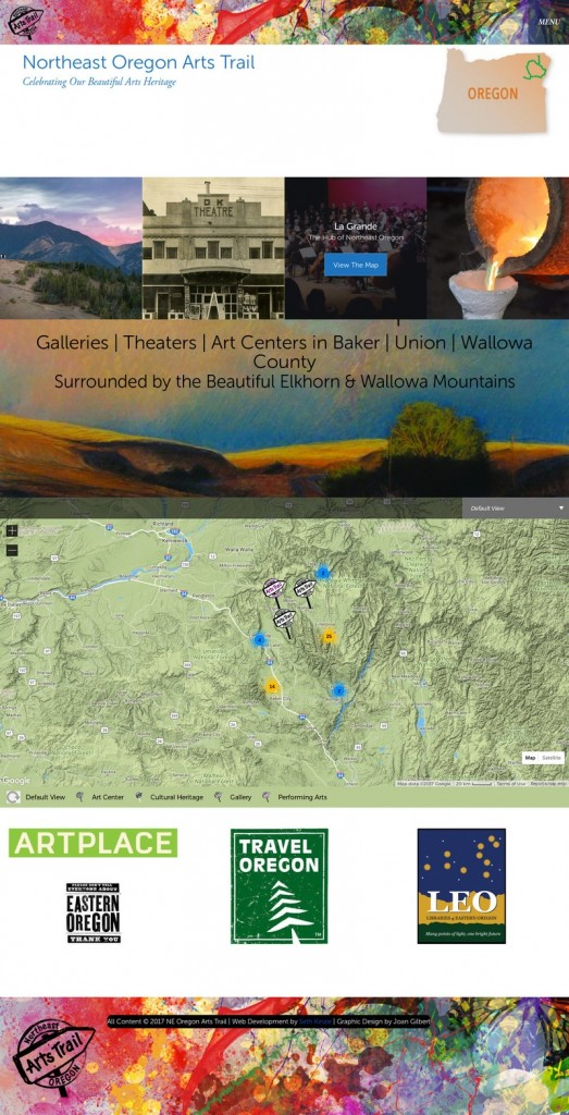 NE Oregon Arts Trail