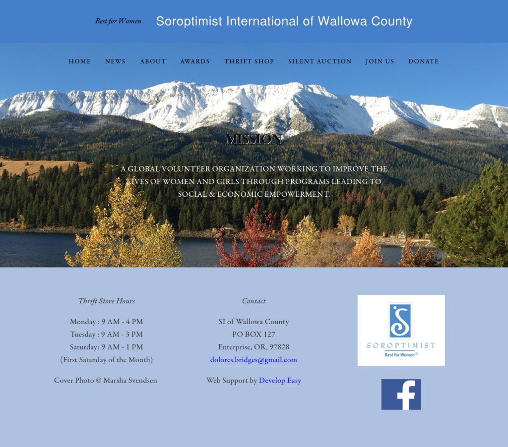 Soroptimist of Wallowa County