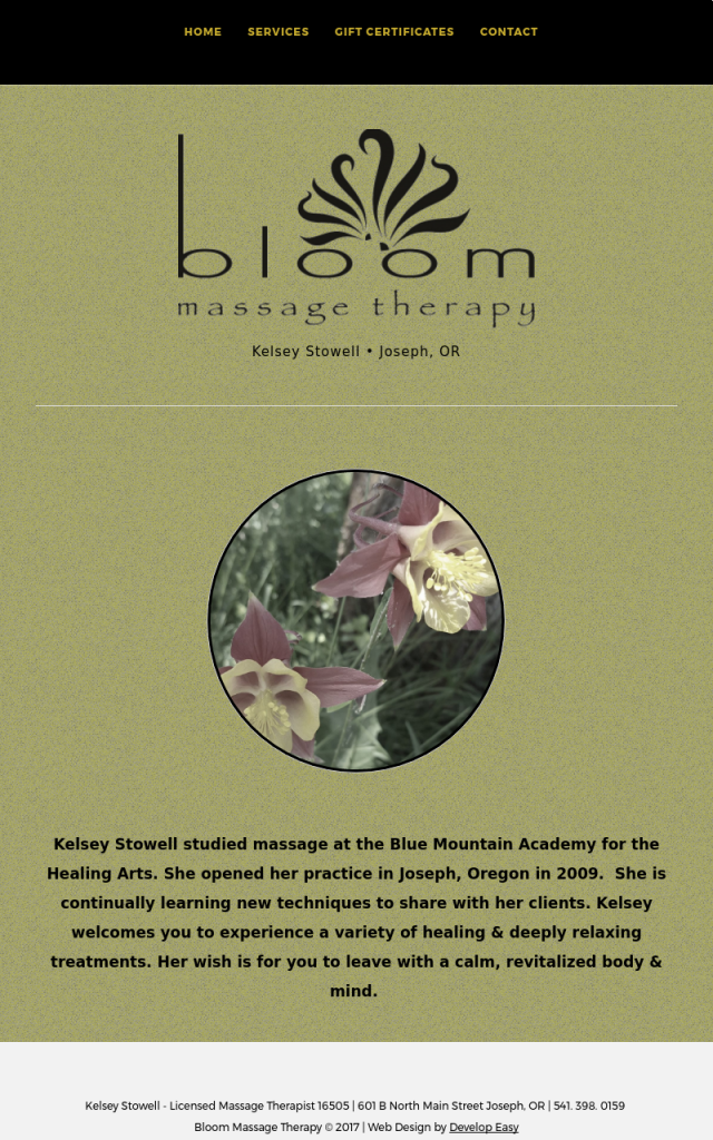 Bloom Massage Therapy
